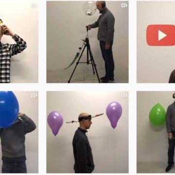 L'arte di Jan Hakon Erichsen che fa scoppiare palloncini su Instagram