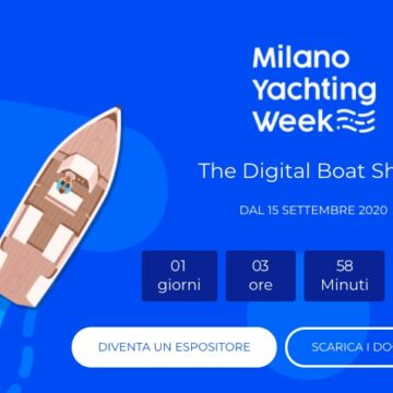 Milano Yachting Week 2020 al via, primo boat show digitale al mondo