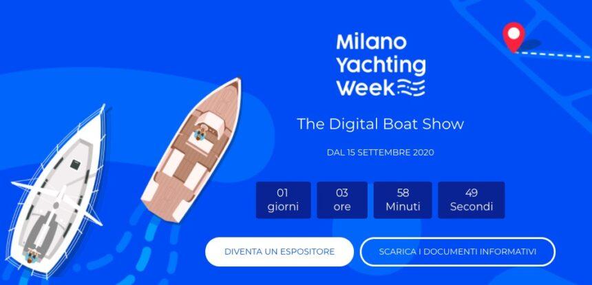 Milano Yachting Week 2020 al via, primo boat show digitale al mondo