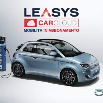 Fiat 500 Elettrica: il noleggio è su Amazon
