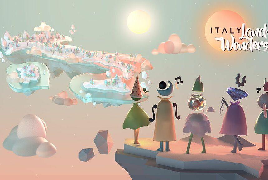 """""""ITALY. Land of Wonders"""", il videogioco per far conoscere e promuovere le bellezze d'Italia"""